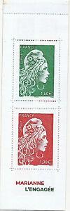 CARNET-DE-TIMBRES-1525A-NEUF-XX-PHILATELIE-MARIANNE-L-039-ENGAGEE