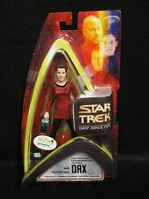 Star Trek Art Asylum Deep Space Nine Lieutenant Dax w/ Starfleet Gear - Used