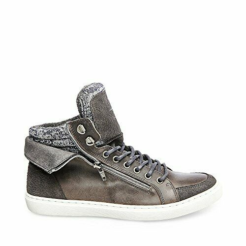 Steve Madden Leather High Top Sneakers shoes Brand New Men