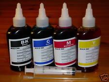 BULK 400ml Refill Ink for HP Printer 4 Colors Syringe