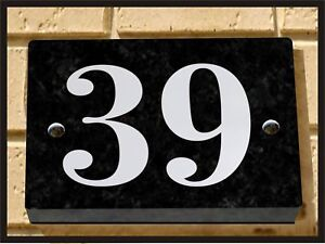 QUALITY-GRANITE-HOUSE-SIGN-ENGRAVED-WITH-NUMBER-39-No