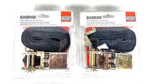 Bessey 15' Ratchet Tie Down includes four 90° Corner Brackets BANR400 Pair of 2