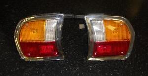 Peugeot-504-Tail-Light-Lens-Set-with-Case-and-Seal-NEW-998AB