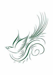 Fantasy-Flying-Bird-of-Paradise-Stencil-350-micron-Mylar-not-thin-stuff-Bird024