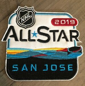 brand new e806e a6662 Image is loading 2019-NHL-ALL-STAR-GAME-PATCH-SAN-JOSE-