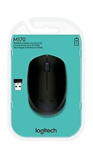 Details about SEALED NEW Logitech 910-004940 Wireless Mouse M170 Windows PC  MAC Linux BLACK