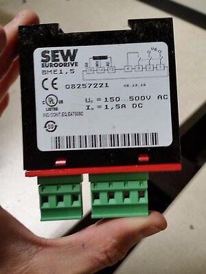 SEW Eurodrive moviret 222 8250812 inversion électricité juge 22 A-used