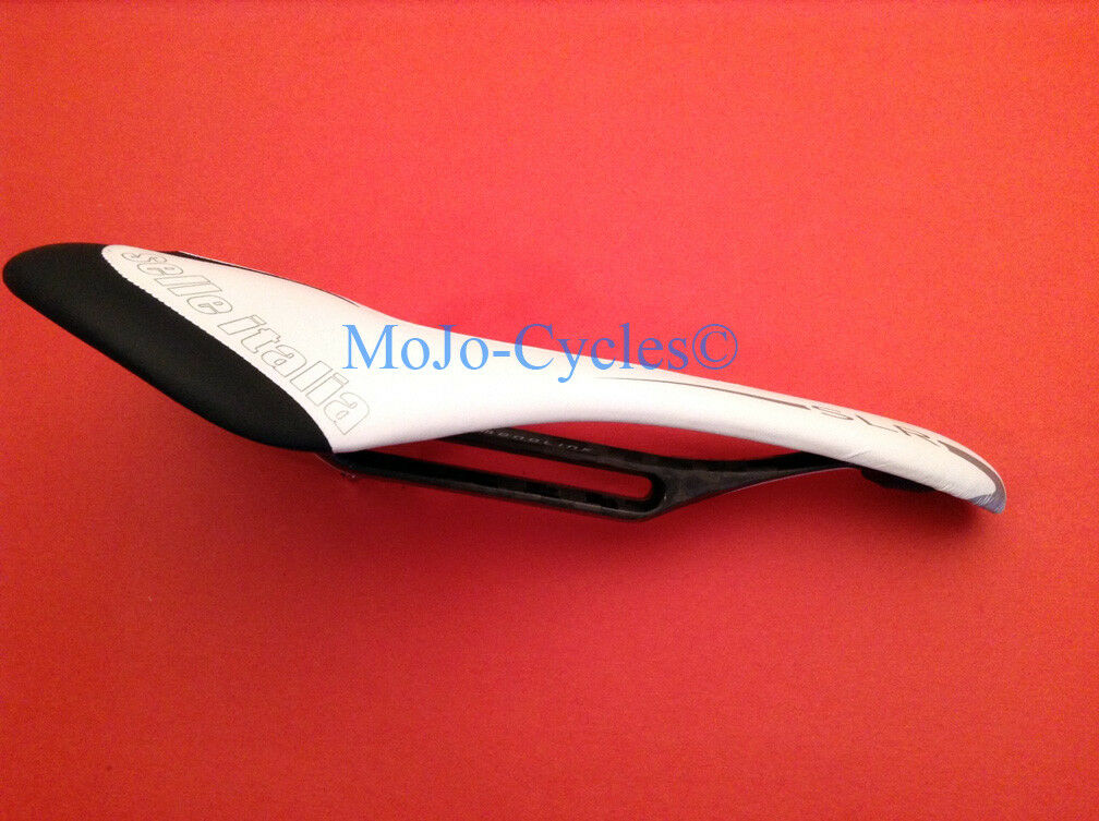 Selle Italia SLR Monolink Flow Carbon Orbea White saddle New