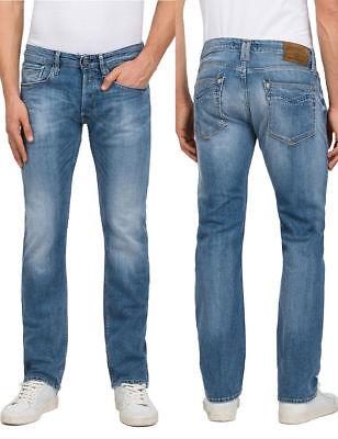 NEU lässige REPLAY Jeans MA955 NEWBILL 573 370 Comfort Fit Stretch Denim