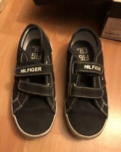 Tommy Hilfiger Garçons Chaussures Uk Taille 13.5-afficher Le Titre D'origine 100% D'Origine