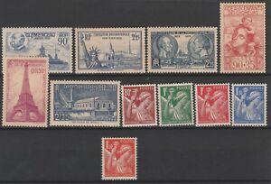 FRANCOBOLLI-1939-41-FRANCIA-MNH-Z-9761
