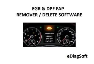 Details about EGR & DPF FAP REMOVER / DELETE SOFTWARE EGR PACK SOLUTION