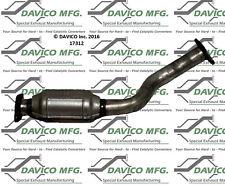 Catalytic Converter-Exact-Fit Front Davico Exc CA 18035