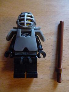 lego ninjago minifigur kendo cole in ausrüstung  waffe - das jahr der schlangen   ebay