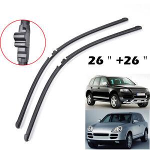 2Pcs-Front-Windshield-Wiper-Blades-For-Porsche-Cayenne-VW-Touareg-02-06-26-034-26-034