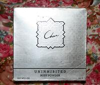 Cher Uninhibited Body Dusting Perfumed Powder Factory Sealed Bnib 5 Oz