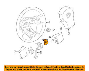 Details about NISSAN OEM 05-08 Frontier Cruise Control-Enement Switch on