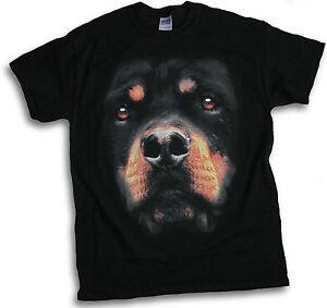 Rottweiler-Rotty-Canine-Big-Dog-Mens-Womens-T-Shirt-Sm-3XL