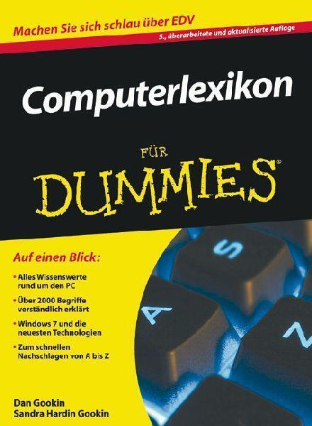 Gookin, Dan - Computerlexikon für Dummies (Fur Dummies) /4