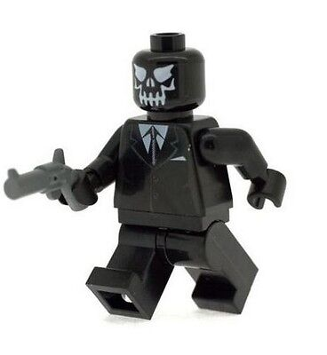 Custom Design Minifigure Black Panther Superhero Printed On LEGO Parts