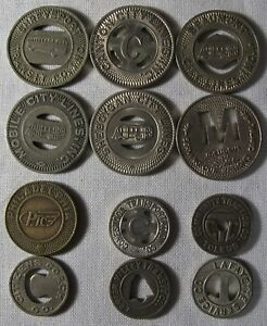 12-Transit-Tokens-Mixed-Sizes-and-Cities-Some-Higher-Value-whotoldya-Lot-9218
