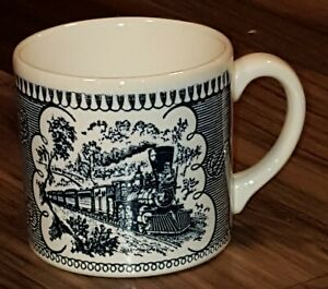 ROYAL-CURRIER-IVES-REGULAR-COFFEE-MUG-VERY-RARE-12-AVAILABLE