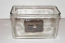 Vintage Glass Battery Aquarium Fish Tank Bowl Betta Suitcase Luggage Decoration
