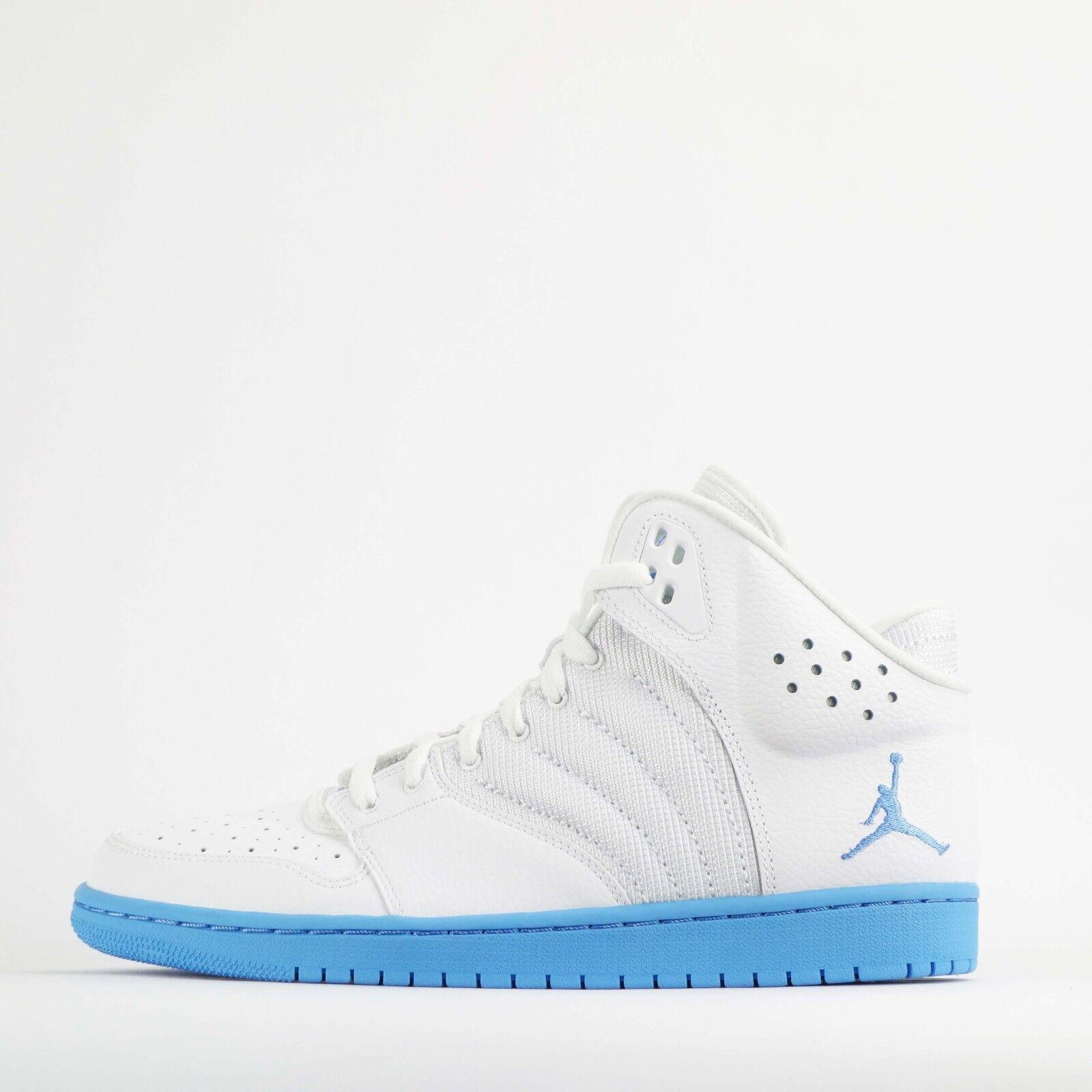 Nike Jordan 1 Flight 4 hommes Trainers blanc/University Chaussures blanc/University Trainers bleu 91bc6c