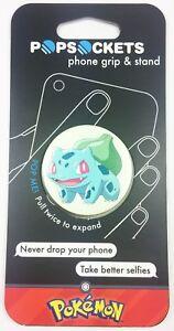 PopSockets Expanding Stand & Grip Phone Holder-Mount-B<wbr/>ulbasaur Pokemon Popsocket