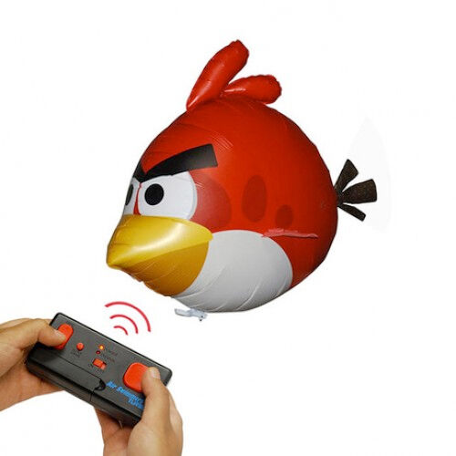 Angry Birds Air Swimmers Turbo Electric RC Blimp