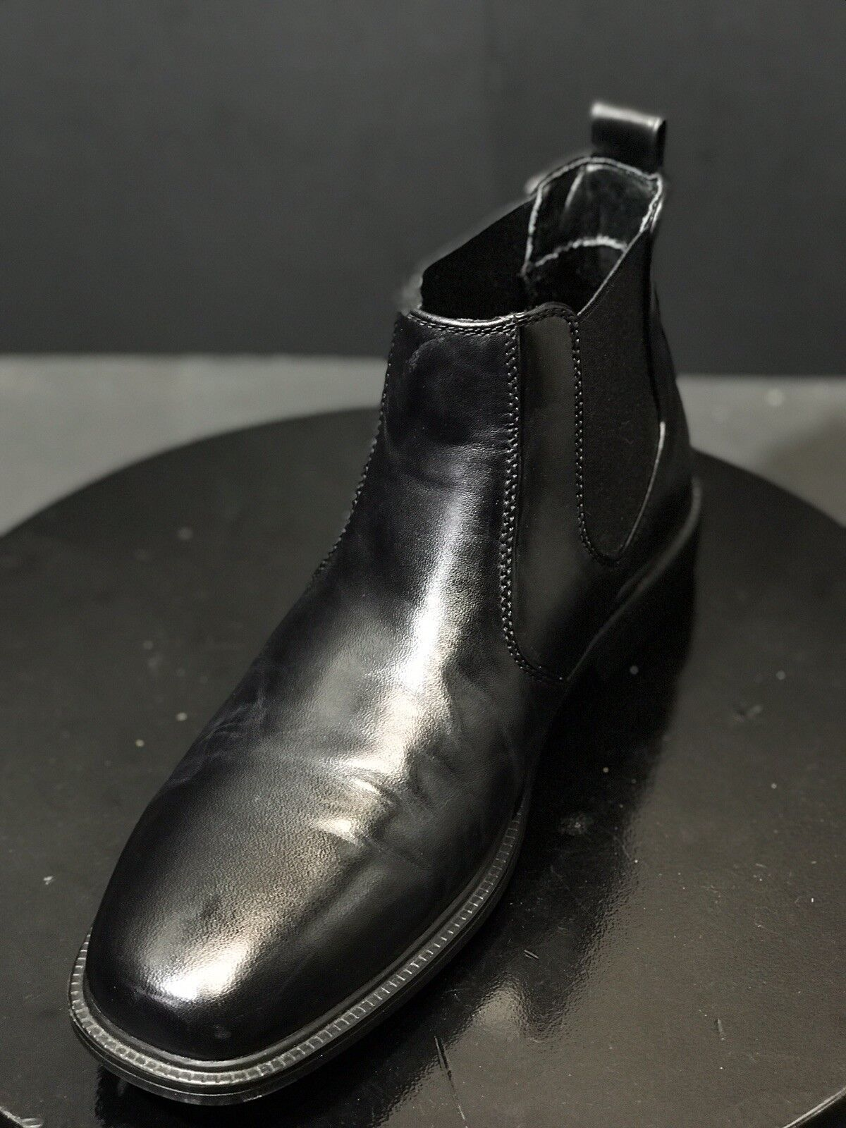 Giorgio Brutini Mens Plain Toe Leather  Manmade  Ankle stivali nero Dimensione US 10  80% di sconto