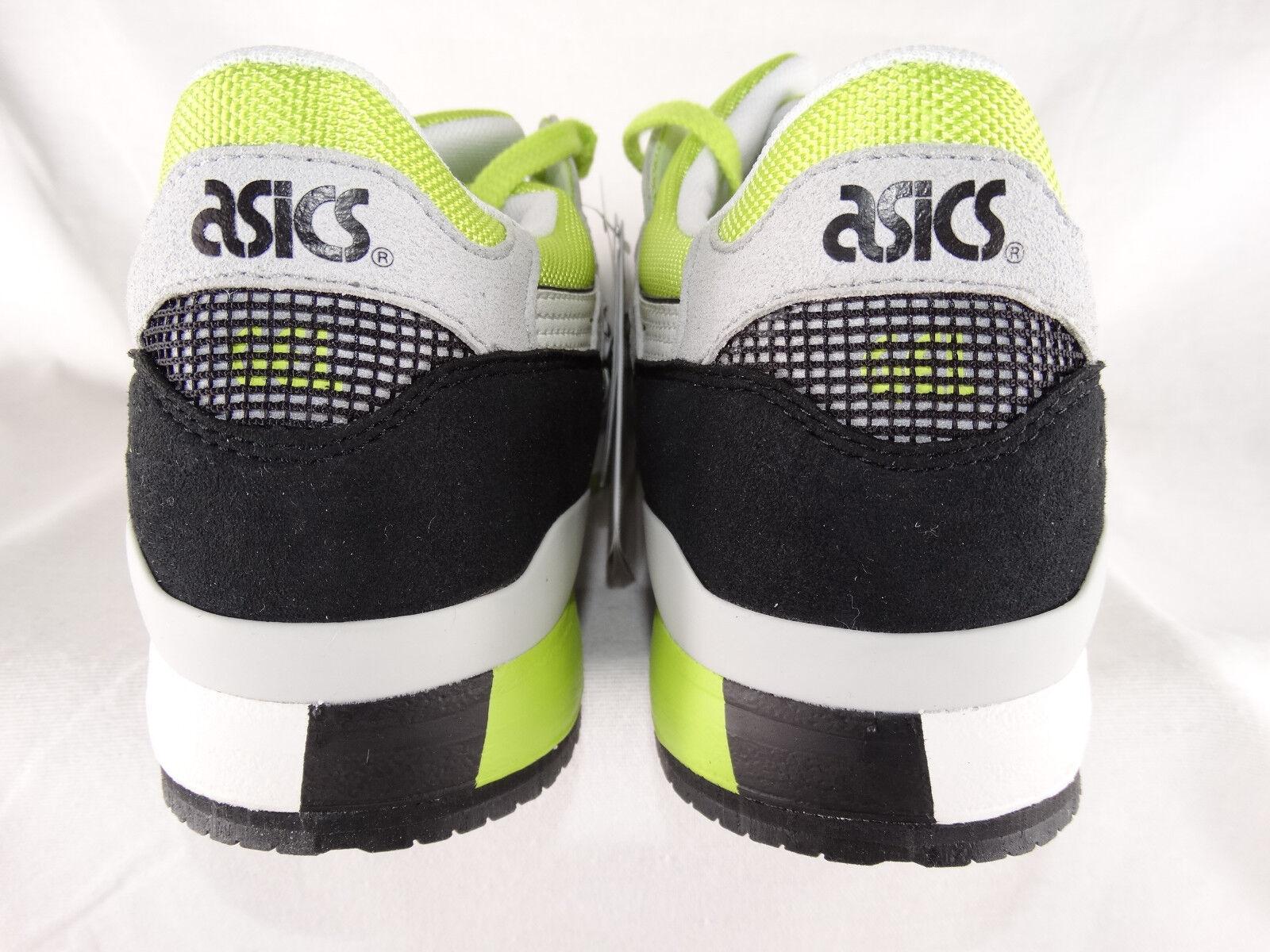 Asics Gel-Lyte III Sneaker H30N-0101 Sneaker weiß-gelb-schwarz EU 41 US 8,5