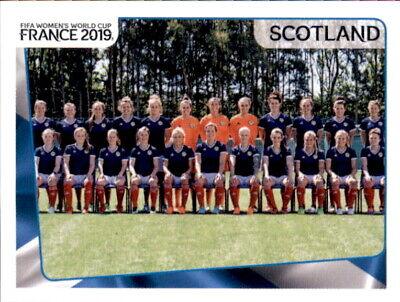 Panini Frauen Wm 2019 Sticker 272 - Team - Schottland