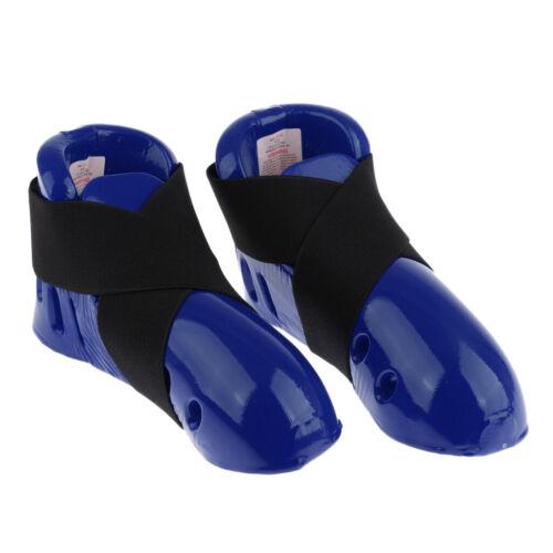 Foam Pad Kicks Sparring Shoes//Footgear for Women Men Taekwondo Blue Red