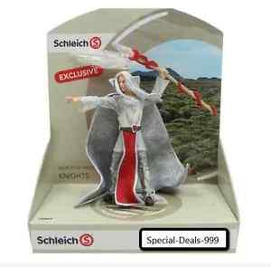 1x-SCHLEICH-Greifenritter-Magier-ca-13cm-Weiss-Rot-handbemalt-Topartikel-Neu-WoW