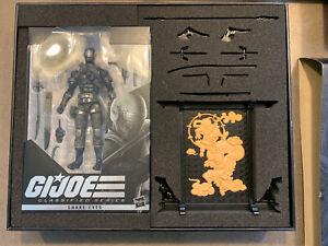 """GI Joe Classified - Snake Eyes Deluxe Collector Action Figure 6"""" - NIB"""