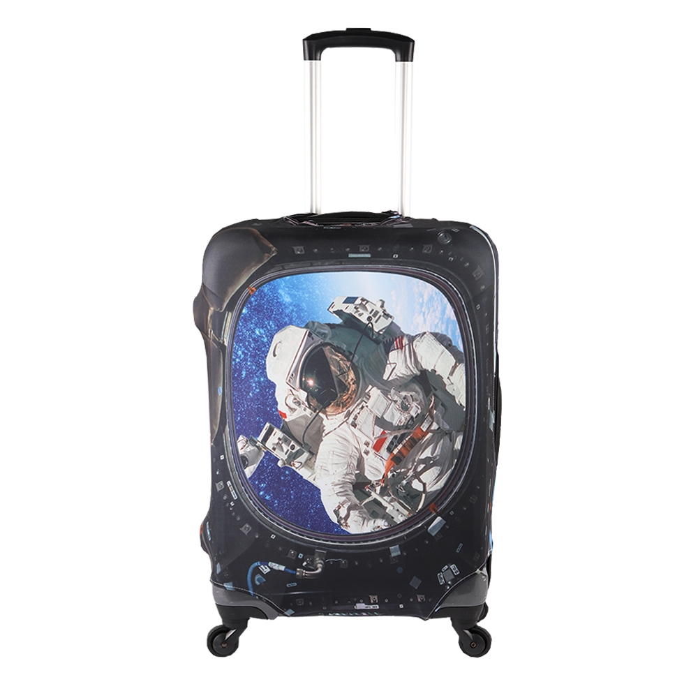 Protective Case Durable HcxBaggagecase145 Dust-proof Case For Luggage Horse Machine Washable Zipper Dust-proof Elastic Suitcase Accessories Double Stitching Printing