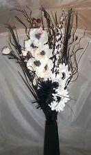 Nero/Bianco ORCHID BOUQUET Regalo Home Living Serra, Lounge, nessun vaso
