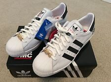 DS ADIDAS SUPERSTAR 80s RUN DMC 25TH ANNIVERSARY ORIGINALS, SZ 13, G48910