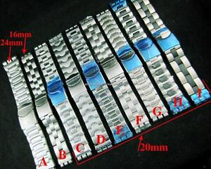Stainless-Steel-Metal-Band-Strap-Bracelet-For-All-SWATCH-Watch-17mm-19mm-23mm