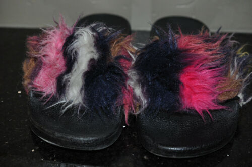 Steve Madden Feathery Slip-on Shoes- 7