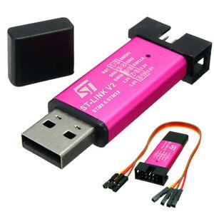 ST-Link-V2-Emulator-Downloader-Programming-Mini-Unit-STM8-STM32-20CM-Line-New