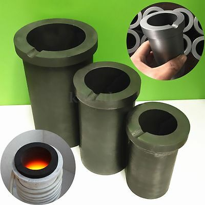1Kg/2Kg/4Kg Graphite Crucible Melting Metal Gold Silver Scrap Casting Mould Melt