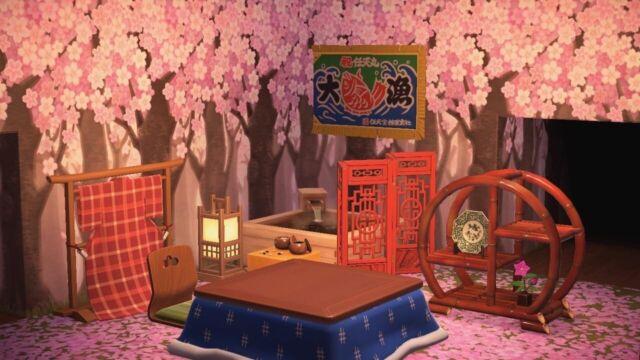 Japanese Garden Animal Crossing New Horizons