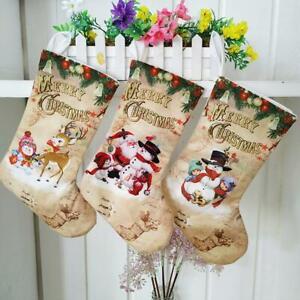Merry-Christmas-Stocking-Large-Santa-Elk-Candy-Gift-Bag-Xmas-Tree-Hanging-Decor