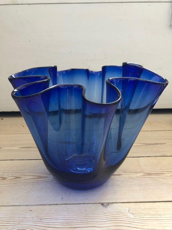 Glas, Foldevase, Holmegaard