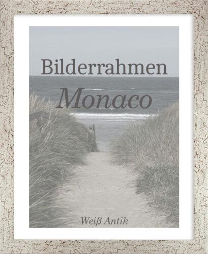 Bilderrahmen Monaco 38x50 cm Foto Poster Puzzle Galerie 50x38 cm