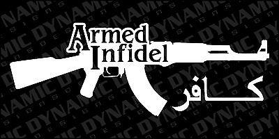 Patirotic USA Seal Vinyl Decal Sticker Gun Patriot Snip Military Marines Federal