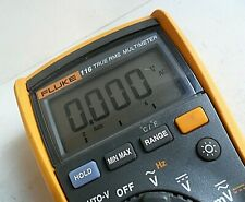 Clean Fluke 116 Trms Digital Meter Test Leads Full Function Hvac Dmm With Leads
