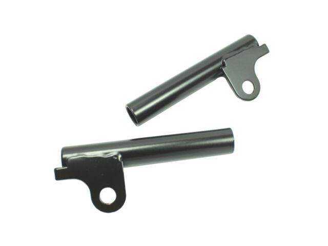 Blinkerhalter schwarz MZ ETZ 125 150 250 251 301 Telegabel 15mm